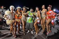 SÃO PAULO, SP, 02 DE FEVEREIRO DE 2013 - ENSAIO TÉCNICO X9 PAULISTANA - Ensaio técnico da Escola de Samba X9 Paulistana na preparação para o Carnaval 2013. O ensaio foi realizado na noite deste sábado (02) no Sambódromo do Anhembi, zona norte da cidade. FOTO LEVI BIANCO - BRAZIL PHOTO PRESS