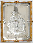 Mirror. Venice, Italy, 1730–1760. Engraved and silvered glass; carved, gessoed, and gilded wood. H x W x D: 39.5 × 32 × 2.2 cm (15 9/16 × 12 5/8 × 7/8 in.). Gift of Eleanor and Sarah Hewitt, 1915-16-8-a. Photo by Matt Flynn © 2016 Cooper Hewitt, Smithsonian Design Museum