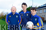 Beaufort manager Eanna O'Malley with his selectors Fergus Kelly left and Maurice Foley