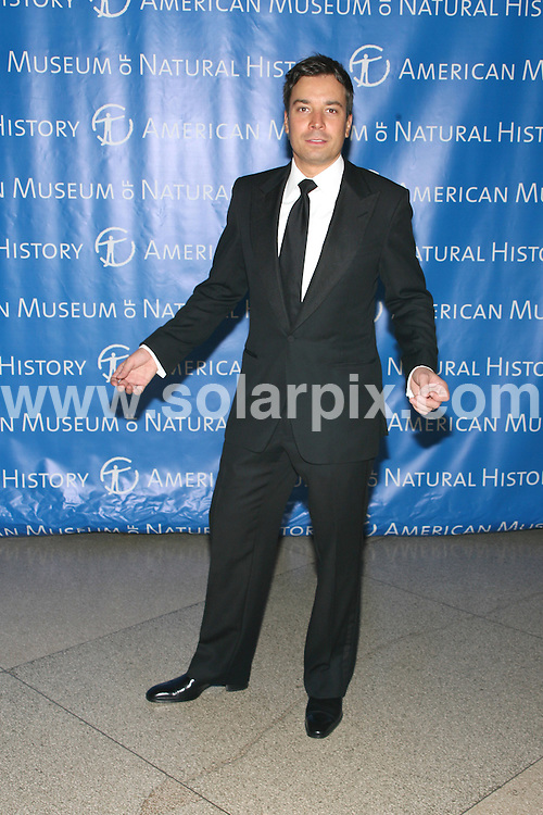**ALL ROUND PICTURES FROM SOLARPIX.COM**.**SYNDICATION RIGHTS FOR UK, SPAIN, PORTUGAL, AUSTRALIA, S.AFRICA & DUBAI (U.A.E) ONLY**.The Museum Gala 2008 at The Museum of Natural History in Central Park West in New York City, New York in the USA. .This pic:Jimmy Fallon..JOB REF:7973-PHZ/Sylvain Gaboury   DATE:20-11-08 .**MUST CREDIT SOLARPIX.COM OR DOUBLE FEE WILL BE CHARGED* *UNDER NO CIRCUMSTANCES IS THIS IMAGE TO BE REPRODUCED FOR ANY ONLINE EDITION WITHOUT PRIOR PERMISSION*
