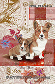 Isabella, REALISTIC ANIMALS, REALISTISCHE TIERE, ANIMALES REALISTICOS, paintings+++++,ITKE066163-L,#a#, EVERYDAY ,dogs ,collage