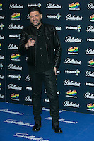 Tony Aguilar attend the 40 Principales Awards at Barclaycard Center in Madrid, Spain. December 12, 2014. (ALTERPHOTOS/Carlos Dafonte) /NortePhoto