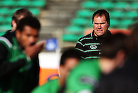 Manawatu coach Dave Rennie during the Air NZ Cup preseason match between Manawatu Turbos and Wellington Lions at FMG Stadium, Palmerston North, New Zealand on Friday, 17 July 2009. Photo: Dave Lintott / lintottphoto.co.nz