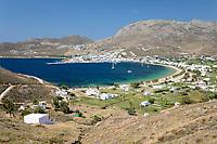Greece, South Aegean, Cyclades, Serifos island: Livadi Bay | Griechenland, Suedliche Aegaeis, Kykladen, Insel Serifos: Livadi Bay