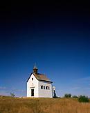 AUSTRIA, Oggau, a small chapel on a vineyard hilltop, Burgenland