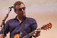 Pictured: James Dean Bradfield. Saturday 29 June 2019<br /> Re: Manic Street Preachers concert at Cardiff Castle, south Wales, UK.
