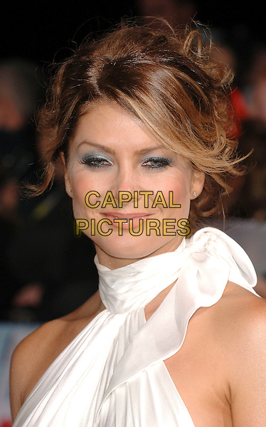 NATALIE BASSINGTHWAITE.attending The National Television Awards 2006, Royal Albert Hall, London, England,.31st October 2006..portrait headshot.CAP/ BEL.©Tom Belcher/Capital Pictures.