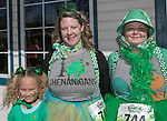 Six year old Nala, Tamra and Deanna during the Shamrock Shuffle 5k fun run in Sparks on Saturday, March 4, 2017.