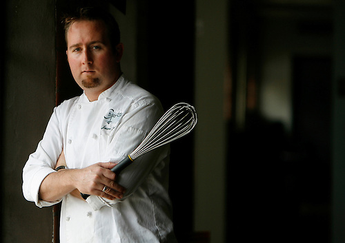 Jason Gould is Chef at Gravitas restaruant at 807 Taft.  (Saturday, Sept. 1, 2007, in Houston. ( Steve Campbell / Chronicle)