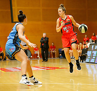 29th December 2019; Bendat Basketball Centre, Perth, Western Australia, Australia; Womens National Basketball League Australia, Perth Lynx versus Canberra Capitals; Lauren Mansfield of the Perth Lynx dribbles the ball into attack - Editorial Use