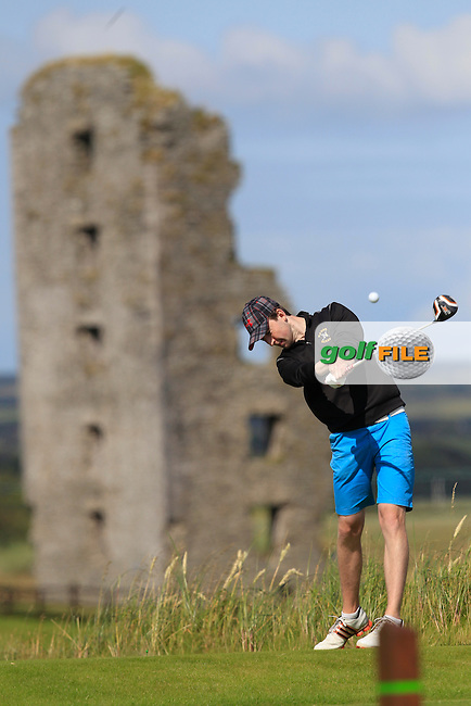 John Conroy (Bray) on the 13th tee during Round 2 of the South of Ireland Amateur Open Championship at LaHinch Golf Club on Thursday 23rd July 2015.<br /> Picture:  Golffile | Thos Caffrey