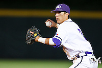 Jerome Pena (2) April 27th, 2010; NCAA Baseball action, Baylor University Bears vs TCU Horned Frogs at Lupton Stadium in Fort Worth, Tx;  TCU won 5-4 in extra innings.