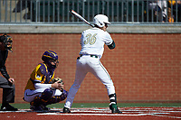 Rafi Vazquez (36) of the Charlotte 49ers at bat against the East Carolina Pirates at Hayes Stadium on March 8, 2020 in Charlotte, North Carolina. The Pirates defeated the 49ers 4-1. (Brian Westerholt/Four Seam Images)