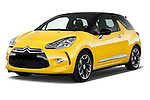 Front three quarter view of a 2013 Citroen DS3 Sport Chic 3 Door Hatchback 2WD