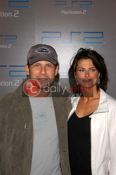 Christian Slater and wife Ryan Haddon