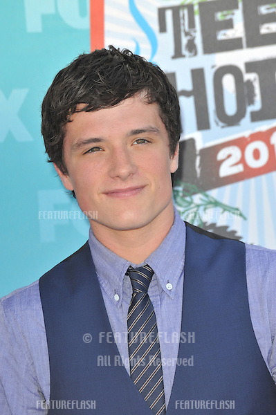 Josh Hutcherson at the 2010 Teen Choice Awards at the Gibson Amphitheatre, Universal Studios, Hollywood, CA..August 8, 2010  Los Angeles, CA.Picture: Paul Smith / Featureflash