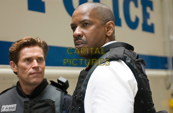 WILLEM DAFOE & DENZEL WASHINGTON.in Inside Man.*Editorial Use Only*.www.capitalpictures.com.sales@capitalpictures.com.Supplied by Capital Pictures.