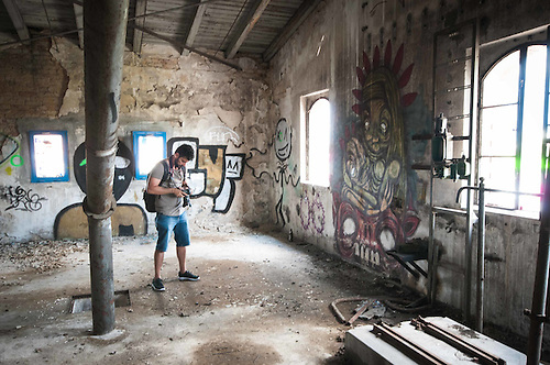A photo tour around an old brewery in Berlin
