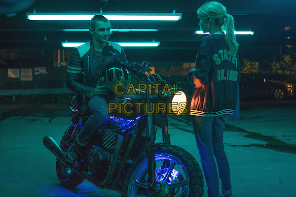 Nerve (2016) <br /> Ian (Dave Franco) and Vee (Emma Roberts) <br /> *Filmstill - Editorial Use Only*<br /> CAP/KFS<br /> Image supplied by Capital Pictures