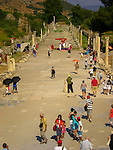 Central road at Ephesus, Turkey