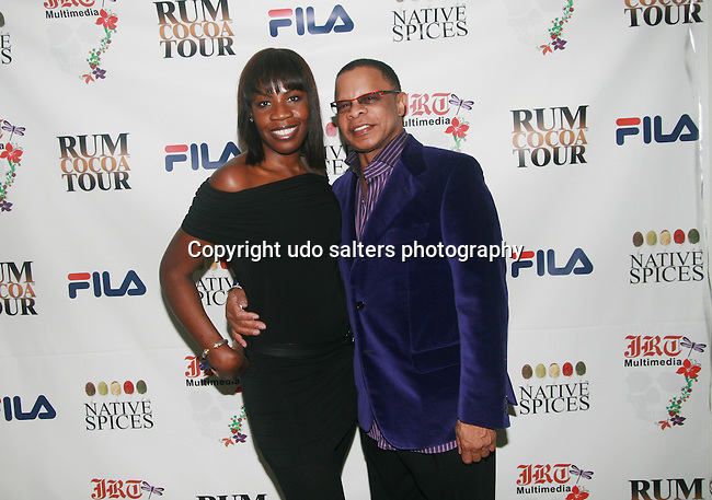 Sandi Sheppard and Front Row Productions President/CEO Stephen C. Byrd Attends Jocelyn Taylor's Birthday Celebration and Official Launch of JRT Multimedia, LLC (A Luxury Branding Company)at Nikki Beach Midtown, New York, 3/26/2011