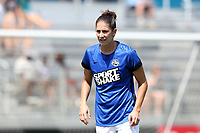 Cary, North Carolina  - Saturday June 03, 2017: Yael Averbuch prior to a regular season National Women's Soccer League (NWSL) match between the North Carolina Courage and the FC Kansas City at Sahlen's Stadium at WakeMed Soccer Park. The Courage won the game 2-0.