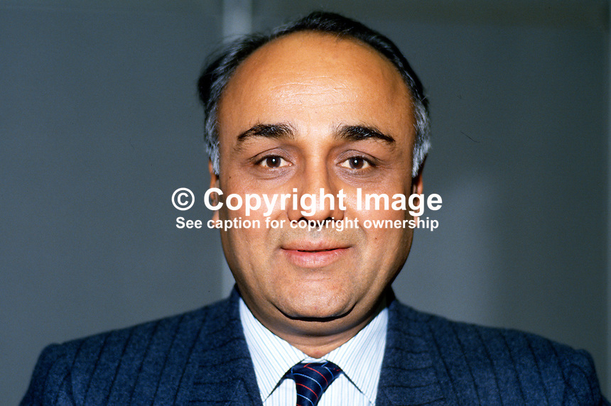 Praful Patel, prominent member, Labour Party, UK, 19870943PP..Copyright Image from Victor Patterson, 54 Dorchester Park, Belfast, UK, BT9 6RJ..Tel: +44 28 9066 1296.Mob: +44 7802 353836.Voicemail +44 20 8816 7153.Skype: victorpattersonbelfast.Email: victorpatterson@me.com.Email: victorpatterson@ireland.com (back-up)..IMPORTANT: If you wish to use this image or any other of my images please go to www.victorpatterson.com and click on the Terms & Conditions. Then contact me by email or phone with the reference number(s) of the image(s) concerned.