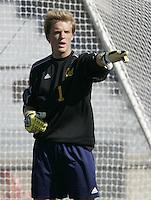 2005 Season - Eric Kronberg of University of California, Berkeley.
