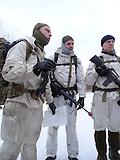 Paramilitärisches Überlebenstraining in Estland