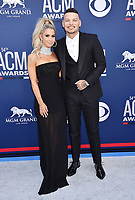 LAS VEGAS, CA - APRIL 07: Katelyn Jae (L) and Kane Brown attend the 54th Academy Of Country Music Awards at MGM Grand Hotel &amp; Casino on April 07, 2019 in Las Vegas, Nevada.<br /> CAP/ROT/TM<br /> &copy;TM/ROT/Capital Pictures
