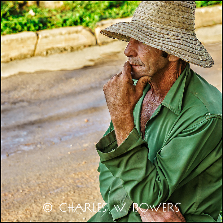 Faces Of Cuba - Making a plan for the day? Thinking of loved ones? Thinking about work?<br /> <br /> -Limited edition of 50 prints.