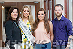 Danielle O'Sullivan – Kerry Rose with her mother Dympna, Sister Michelle and Brother Shane O'Sullivan at the Rose of Tralee Hotel on Tuesday Evening.