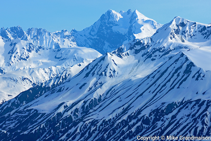 Alsek Range Mountains<br /> Haines Road in Extreme NW British Columbia<br /> British Columbia<br /> Canada