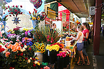 Flower and produce market in Montreal