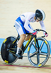 Lee Hyejin of Korea competes in the Women's Keirin - Repechages during the 2017 UCI Track Cycling World Championships on 16 April 2017, in Hong Kong Velodrome, Hong Kong, China. Photo by Chris Wong / Power Sport Images