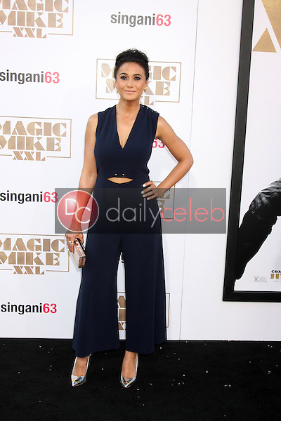 """Emmanuelle Chriqui <br /> at the """"Magic Mike XXL"""" Premiere, TCL Chinese Theater, Hollywood, CA 06-25-15<br /> David Edwards/DailyCeleb.com 818-249-4998"""