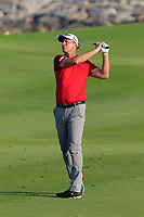 Robert Karlsson (SWE) during the first round of the NBO Open played at Al Mouj Golf, Muscat, Sultanate of Oman. <br /> 15/02/2018.<br /> Picture: Golffile   Phil Inglis<br /> <br /> <br /> All photo usage must carry mandatory copyright credit (&copy; Golffile   Phil Inglis)