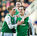 27/03/2010   Copyright  Pic : James Stewart.sct_jspa12_falkirk_v_hibernian  .::  ANTHONY STOKES CELEBRATES AFTER HE SCORES THE SECOND ::  .James Stewart Photography 19 Carronlea Drive, Falkirk. FK2 8DN      Vat Reg No. 607 6932 25.Telephone      : +44 (0)1324 570291 .Mobile              : +44 (0)7721 416997.E-mail  :  jim@jspa.co.uk.If you require further information then contact Jim Stewart on any of the numbers above.........