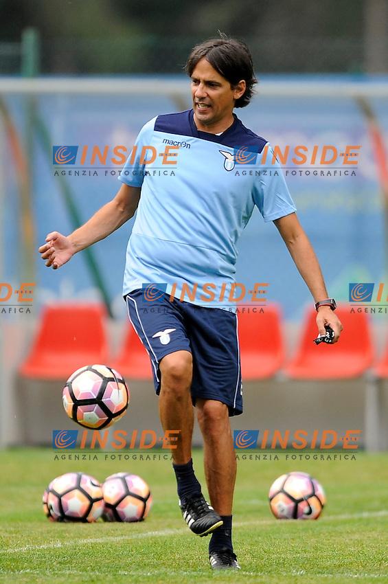 Simone Inzaghi <br /> 11-07-2016 Auronzo di Cadore ( Belluno ) <br /> SS Lazio pre season training camp <br /> Ritiro estivo S.S. Lazio ad Auronzo di Cadore in preparazione per la stagione 2016-2017<br /> Foto Marco Rosi/Fotonotizia/Insidefoto