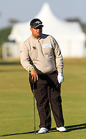 Kiradech Aphibarnrat (THA) on the 11th fairway during Round 2 of the 2015 Alfred Dunhill Links Championship at Kingsbarns in Scotland on 2/10/15.<br /> Picture: Thos Caffrey | Golffile