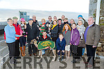 KINGDOM CUP winner SKELLIG SHANE owner Timothy O'Driscoll at the Kingdom Cup Coursing Meet at Ballybeggan on Tuesday