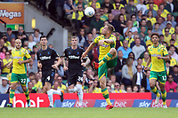 Marco Stiepermann of Norwich City with the ball during Norwich City vs Middlesbrough, Sky Bet EFL Championship Football at Carrow Road on 15th September 2018