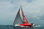 Dongfeng Race Team trains on Hainan waters ahead the 2014/15 Volvo Ocean Race on February 22, 2014 in Sanya, China. Photo by Victor Fraile / Power Sport Images