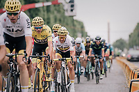 Team SKY escorting Chris Froome (GBR/SKY) towards his 4th overall victory in the Tour on the Champs-Elysées<br /> <br /> 104th Tour de France 2017<br /> Stage 21 - Montgeron › Paris (105km)