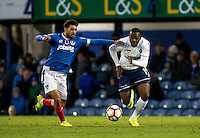 Myles Weston of Wycombe Wanderers during the FA Cup 1st round match between Portsmouth and Wycombe Wanderers at Fratton Park, Portsmouth, England on the 5th November 2016. Photo by Liam McAvoy.