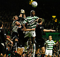 26/11/2005         Copyright Pic : James Stewart.File Name : sct_jspa14 celtic v dunfermline.ALLAN MCGREGOR PUNCHES CLEAR FROM BOBO BALDE...Payments to :.James Stewart Photo Agency 19 Carronlea Drive, Falkirk. FK2 8DN      Vat Reg No. 607 6932 25.Office     : +44 (0)1324 570906     .Mobile   : +44 (0)7721 416997.Fax         : +44 (0)1324 570906.E-mail  :  jim@jspa.co.uk.If you require further information then contact Jim Stewart on any of the numbers above.........