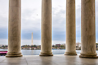 Jefferson Memorial Washington Monument Washington DC
