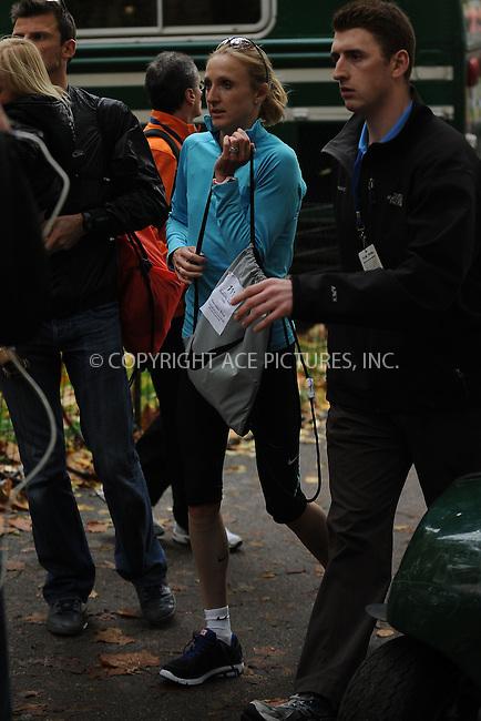 WWW.ACEPIXS.COM . . . . . ....November 1 2009, New York City....Paula Radcliffe following the ING New York City Marathon on November 1, 2009 in New York City.....Please byline: KRISTIN CALLAHAN - ACEPIXS.COM.. . . . . . ..Ace Pictures, Inc:  ..(212) 243-8787 or (646) 679 0430..e-mail: picturedesk@acepixs.com..web: http://www.acepixs.com