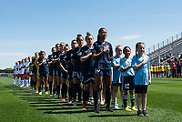 Piscataway, NJ - Saturday May 11, 2019: A National Women's Soccer League match between Sky Blue FC and Washington Spirit at Yurcak Field.