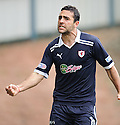 DAMAIN CASALINUOVO CELEBRATES AFTER HE  SCORES ROVERS' FIRST